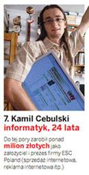 Kamil Cebulski Wprost